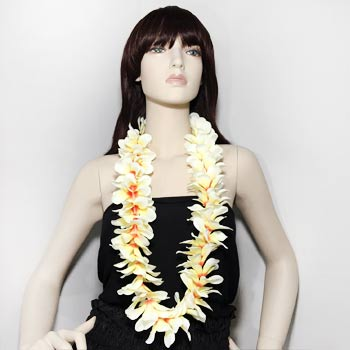 "20"" Silk Flower Leis"