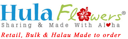 We supply Hawaiian Silk & Foam Flowers, DIY Handmade flower for Hula Halau, Destination Wedding Bridal Beach Party. Plumeria, Orchid, Tiare, Haku, Hip Hei, Island and Tahitian flower Ti leaf leaves, Merrie Monarch USA Retail, Wholesale and Made to order
