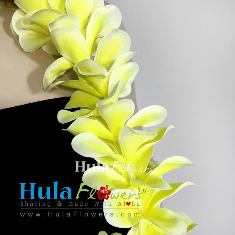 Silk plumeria lei 20 long hulaflowers lightbox mightylinksfo