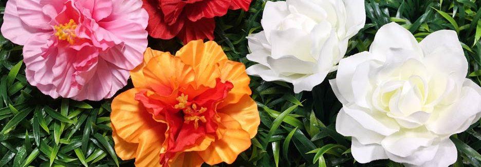 Diy loose flowers hulaflowers loose silk flowers mightylinksfo