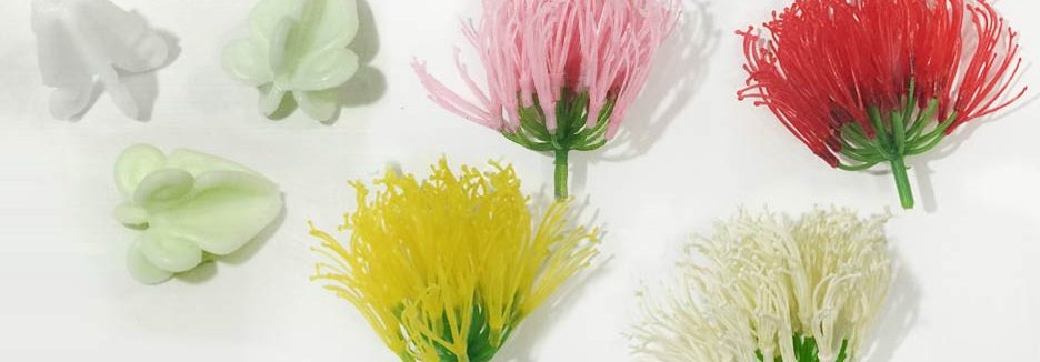 Flowers hair clips or stems hulaflowers diy loose flowers mightylinksfo