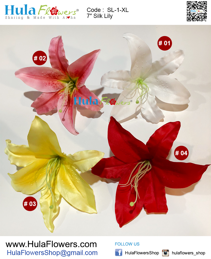 7 silk lily 10 pcs hulaflowers additional information izmirmasajfo